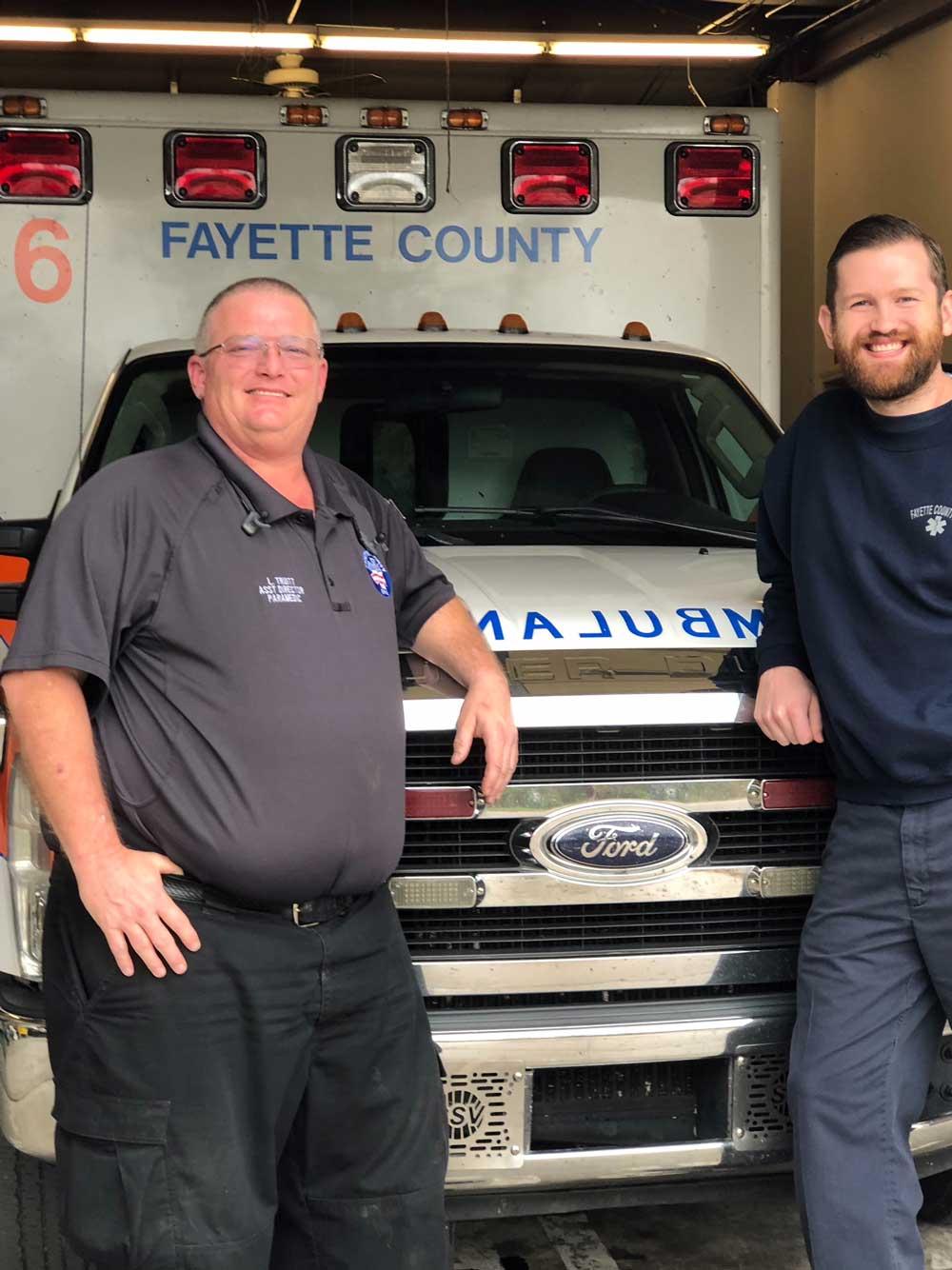 EMS/Ambulance Headquarters - C Shift